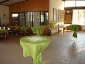2011-03-26 Schützenhalle Tischdeko 01